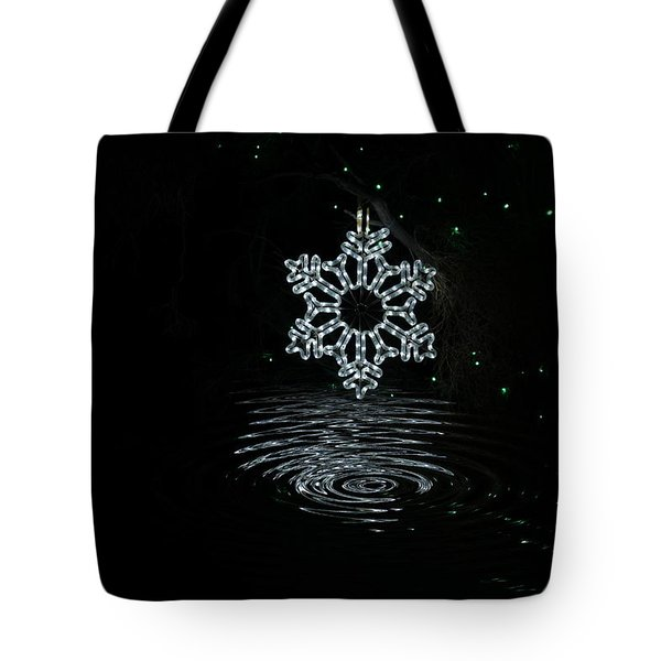 A Ripple Of Christmas Cheer Tote Bag