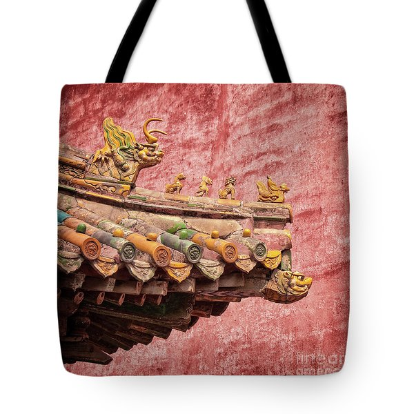 A Roof In The Forbidden City Tote Bag
