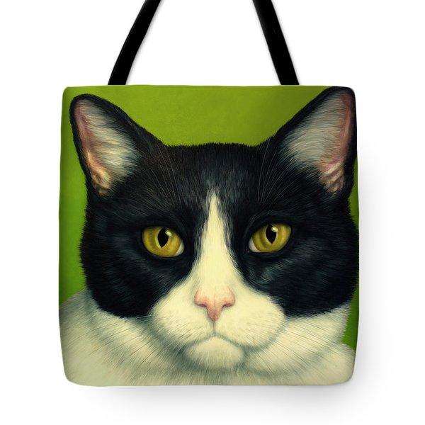 A Serious Cat Tote Bag