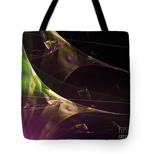 A Space Aurora Tote Bag
