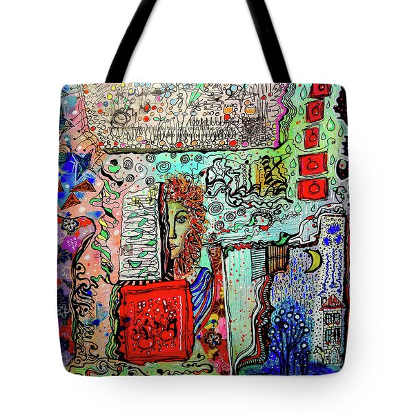 A Story Waiting To Be Told Tote Bag