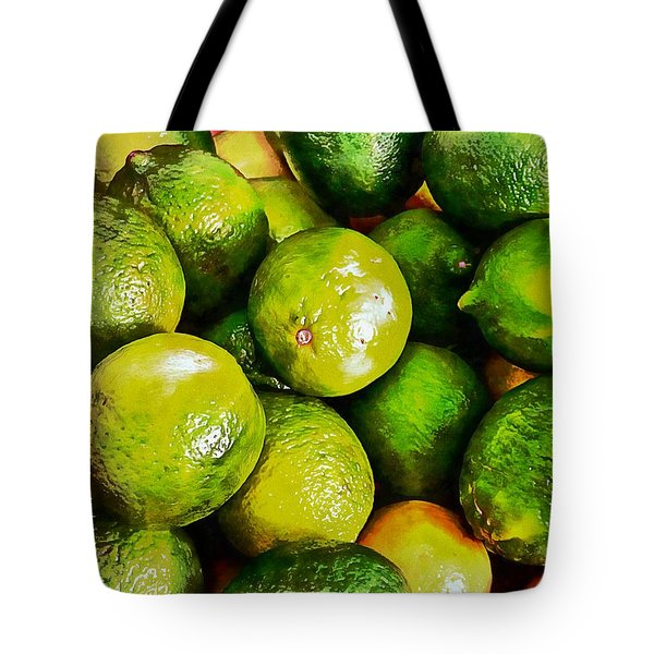 A Study In Limes Tote Bag