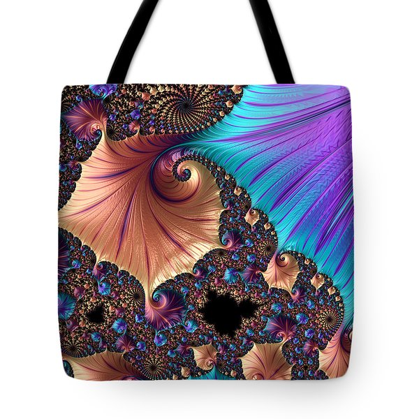 A Study Of Curves. Tote Bag