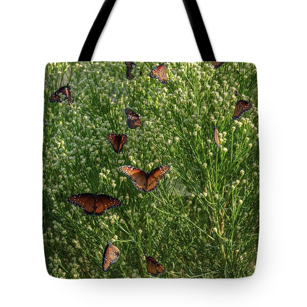 Tote Bag featuring the photograph A Swarm Of Queens by Gaelyn Olmsted