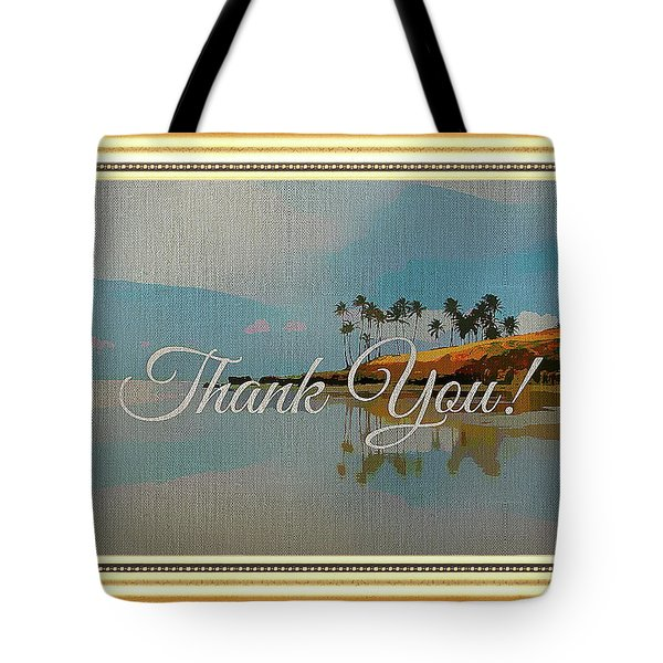A Thank You Gift Tote Bag