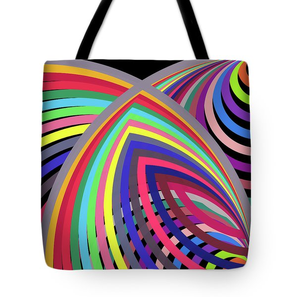 A To Z By 2 Right Bottom Tote Bag