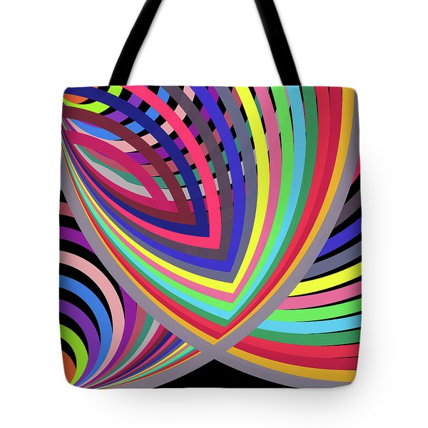 A To Z By 2 Top Left Tote Bag