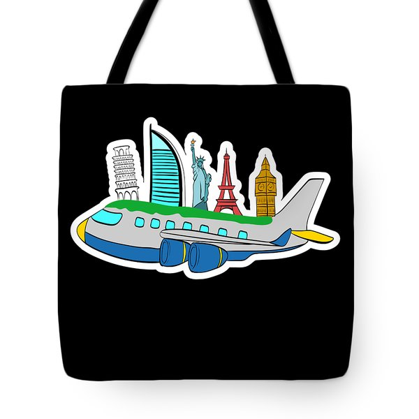 a Traveler A Nice Traveling Design thatll be a Perfect tshirt for Exploring Explore Tote Bag
