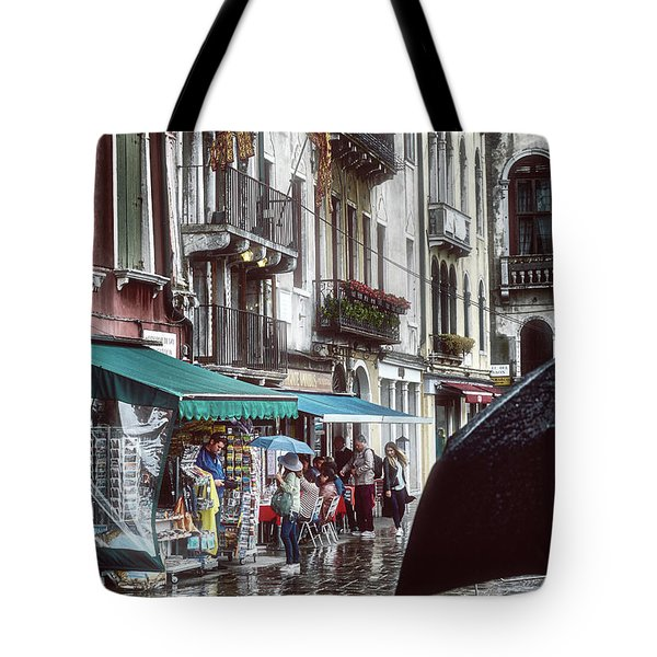 A Typical Venetian Day Tote Bag