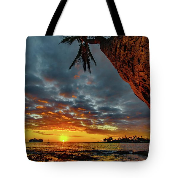 A Typical Wednesday Sunset Tote Bag