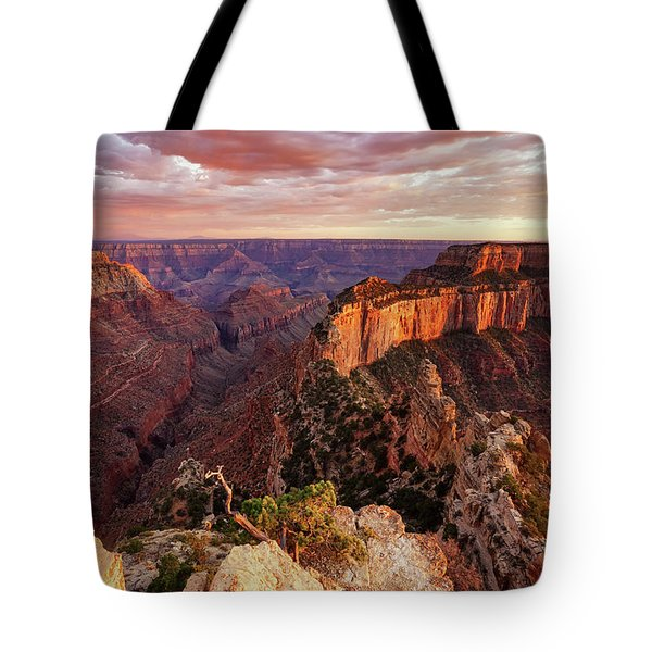 A View From Cape Royal Tote Bag