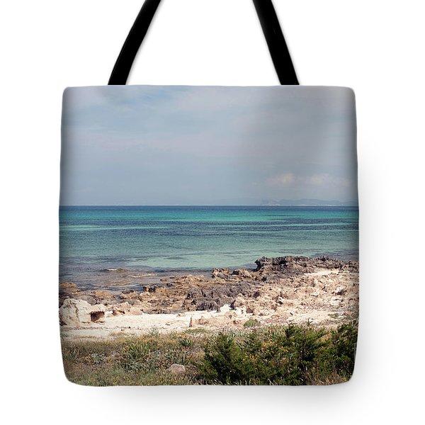 A View To Ibiza Tote Bag