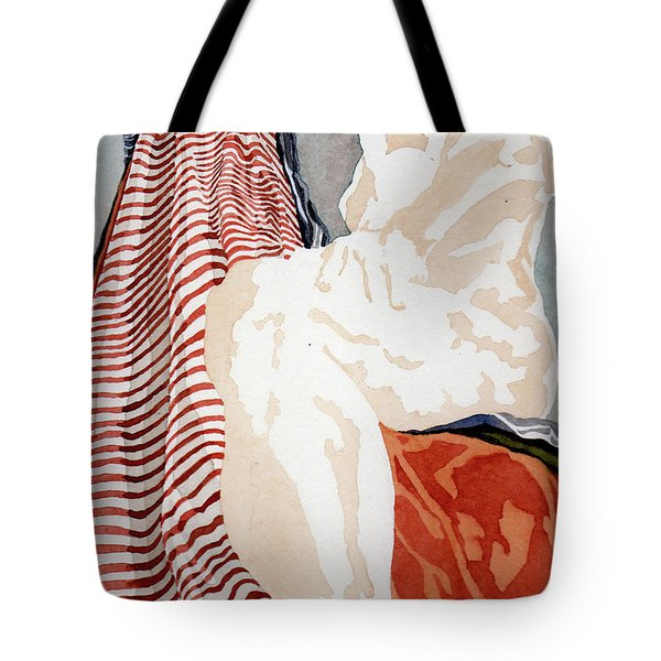 A View Up A Steep Incline Tote Bag