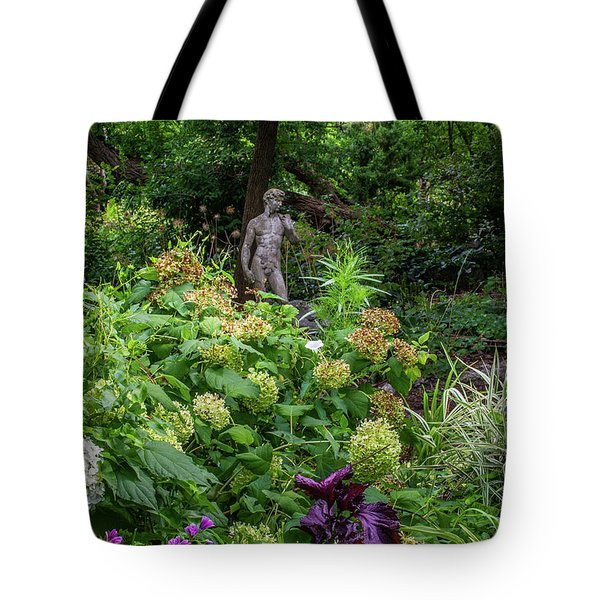Tote Bag featuring the photograph A Walk In The Garden by Dale Kincaid
