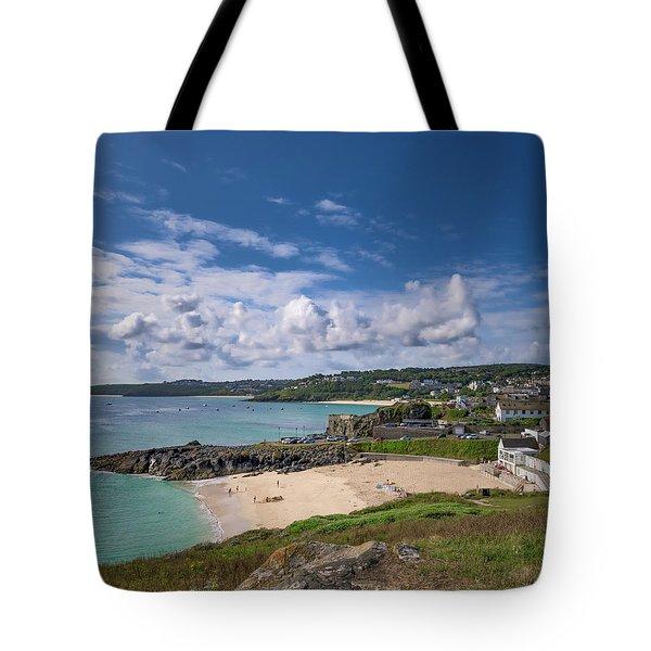 A Walk To Porthgwidden Beach - St Ives Cornwall Tote Bag
