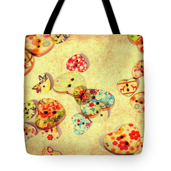 A Weathered Tailors Abstract Tote Bag