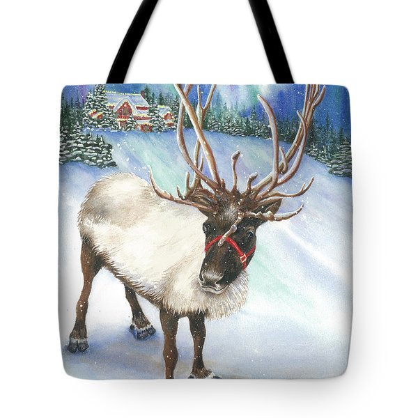 A Winter's Walk Tote Bag