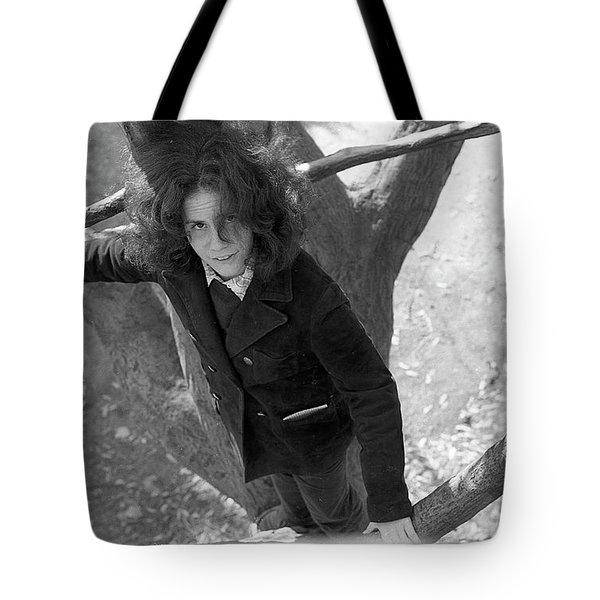 A Woman In A Tree, 1972 Tote Bag