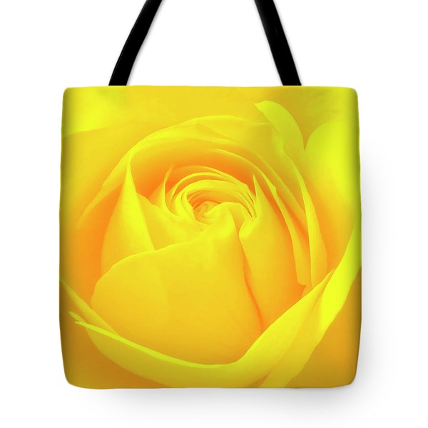 A Yellow Rose For Joy And Happiness Tote Bag