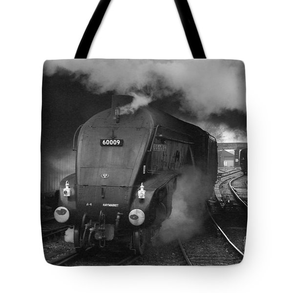 Tote Bag featuring the photograph A4 Power by David Birchall