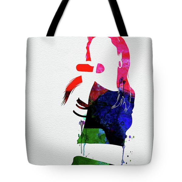 Aaliyah Watercolor Tote Bag