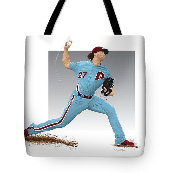 Aaron Nola Tote Bag