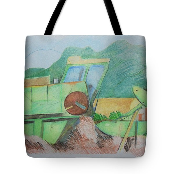 Abandoned Combine Tote Bag