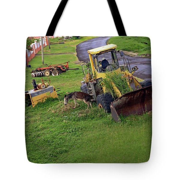 Tote Bag featuring the photograph Abandoned by Tony Murtagh