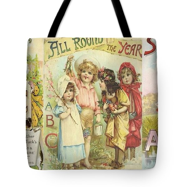 Abc Book Cover 7 For Mugs Tote Bag