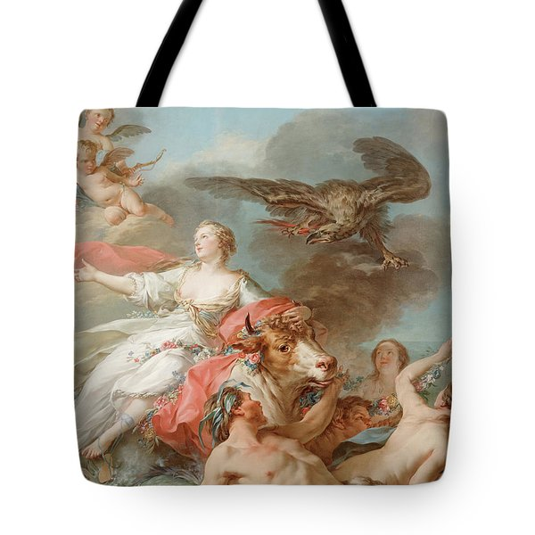 Abduction Of Europa Tote Bag