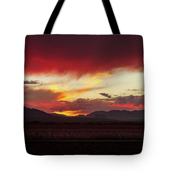 Tote Bag featuring the photograph Ablaze by Rick Furmanek