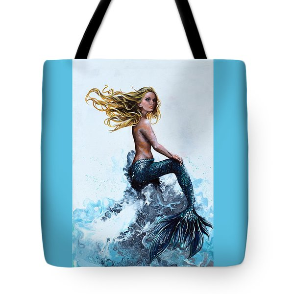 Above A Stormy Sea Tote Bag