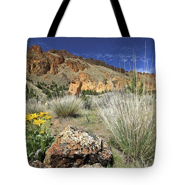Above Juniper Gulch Tote Bag