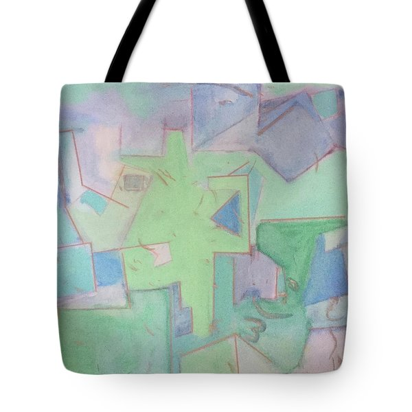 Abstract 3 Tote Bag
