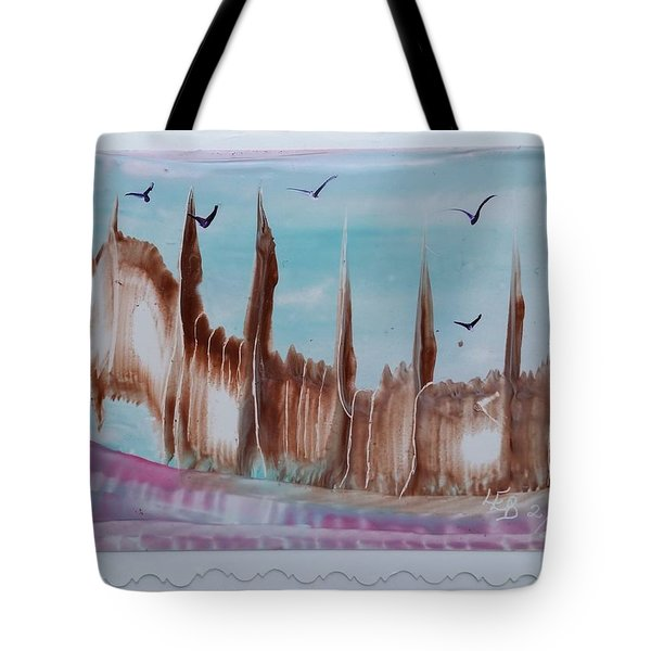 Abstract Castles Tote Bag