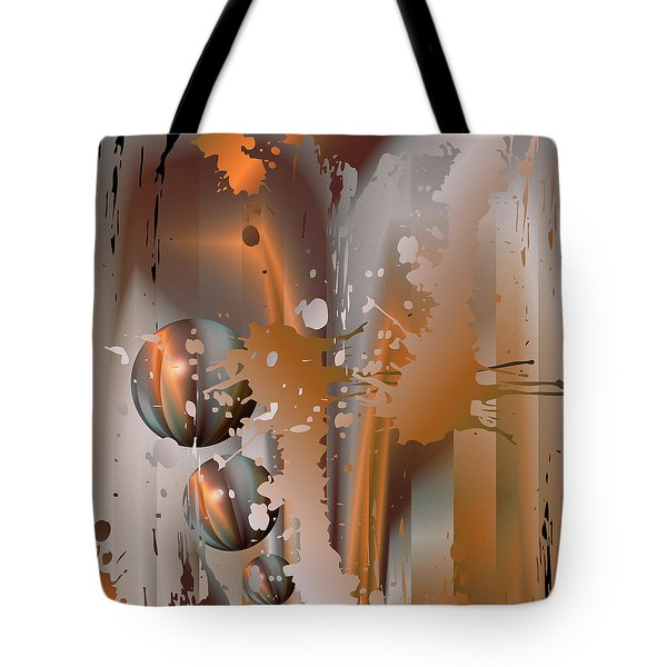 Abstract Copper Tote Bag
