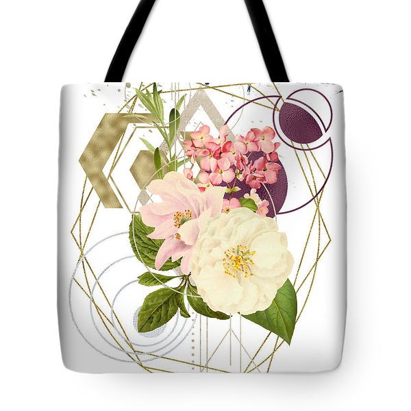Tote Bag featuring the digital art Abstract Dream by Bee-Bee Deigner