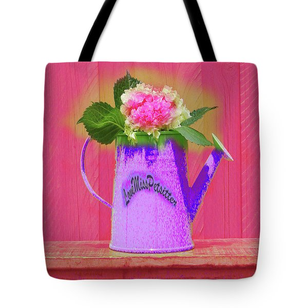 Abstract Floral Art 342 Tote Bag