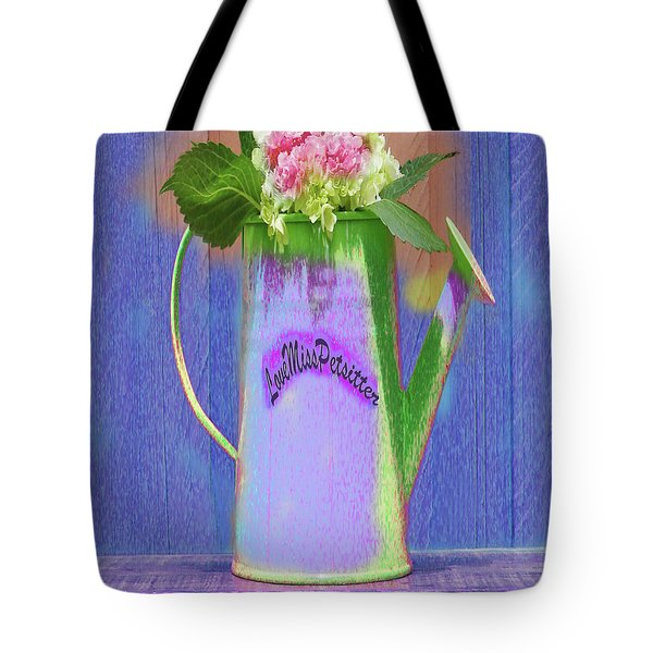 Abstract Floral Art 343 Tote Bag