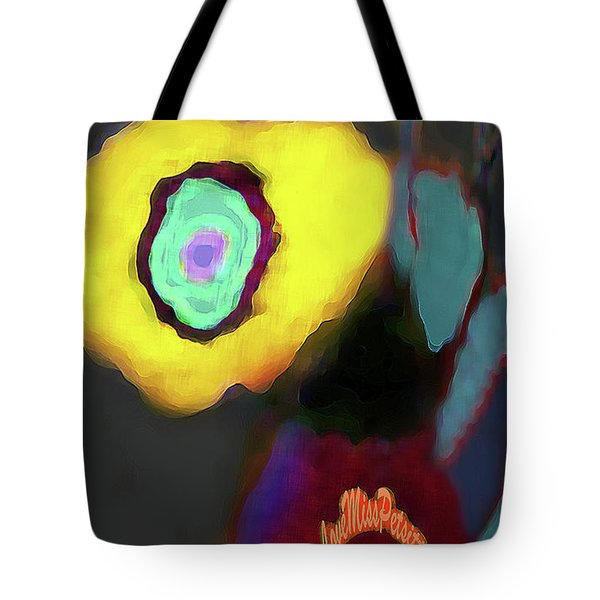 Abstract Floral Art 371 Tote Bag