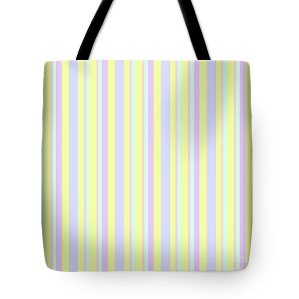 Abstract Fresh Color Lines Background - Dde595 Tote Bag