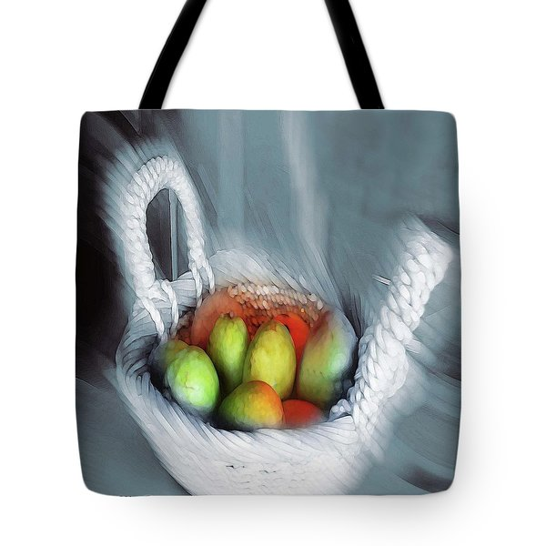 Abstract Fruit Art   104 Tote Bag