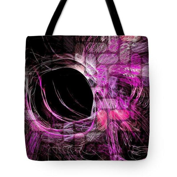 Abstract Heaven Magenta Tote Bag