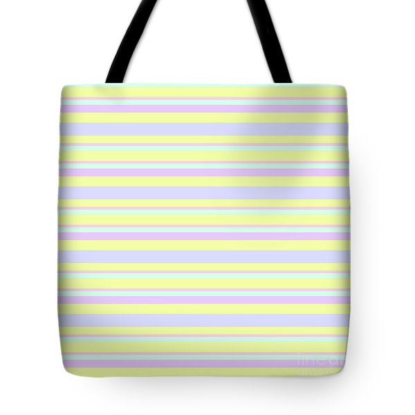 Abstract Horizontal Fresh Lines Background - Dde596 Tote Bag