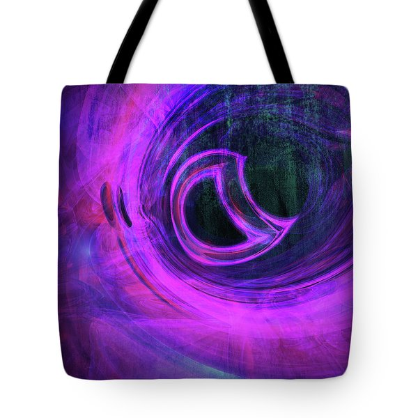 Abstract Rendered Artwork 4 Tote Bag