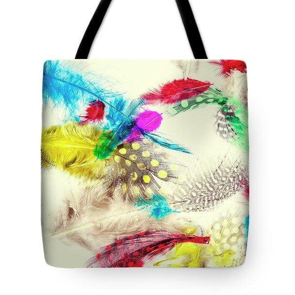 Abstract Softness Tote Bag