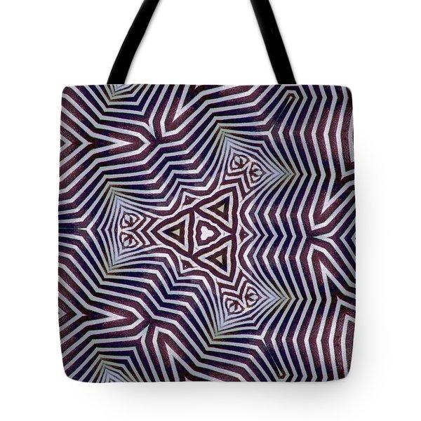 Abstract Zebra Design Tote Bag