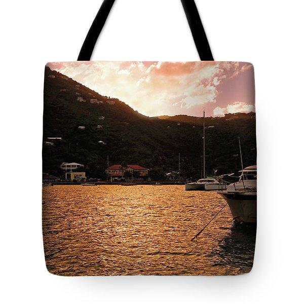 Abstractions Of Coral Bay Tote Bag