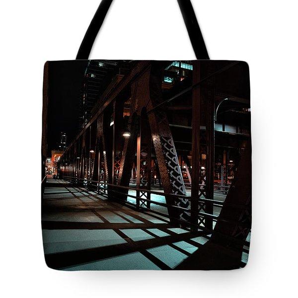 Across The Bridge Tote Bag