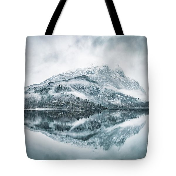 Across The Endless Fjords Tote Bag